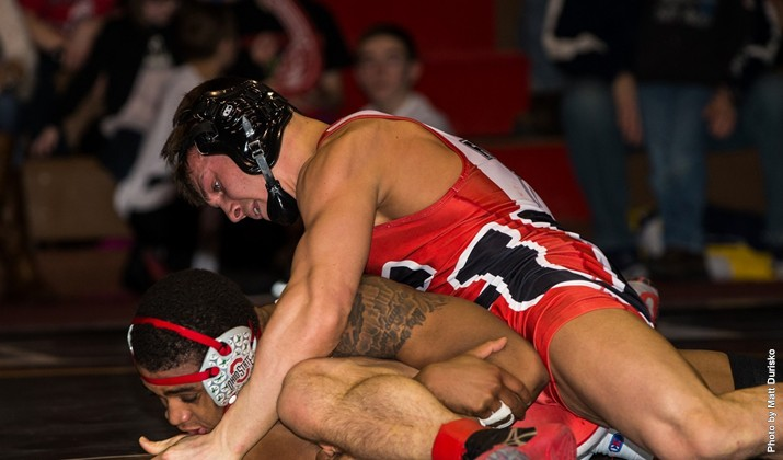 Edinboro's Vic Avery (above) was one of many EU athletes to take on OSU. (Contributed Photo/Edinboro Sports Information)