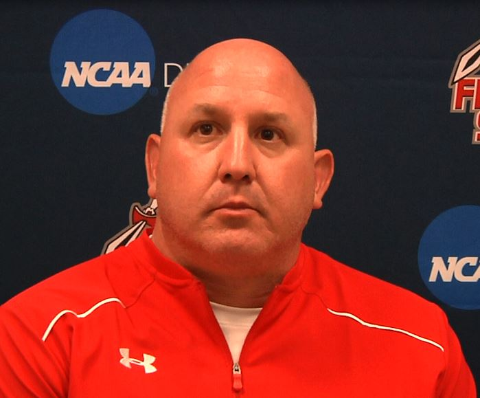 Vinny Marino (above) takes over as the Offensive Coordinator for Edinboro (Photo/Tyler Trumbauer).