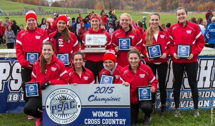 The Edinboro women's cross country team captured its second straight PSAC team championship on Saturday morning (Contributed/PSAC).